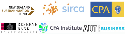 AUT Business, CFA Institute, CPA, NZ Superannuation Fund, Reserve Bank NZ and Sirca